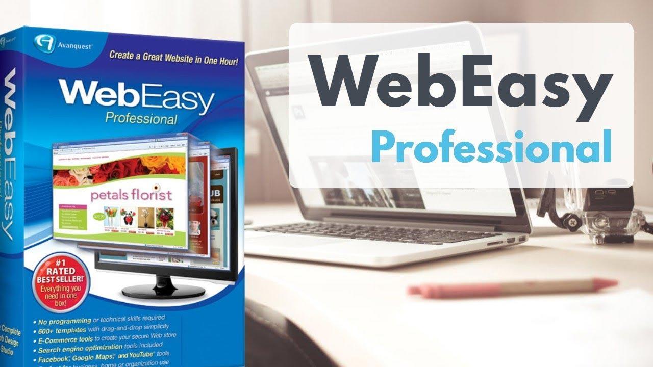 Webeasy-Professional網頁設計軟體