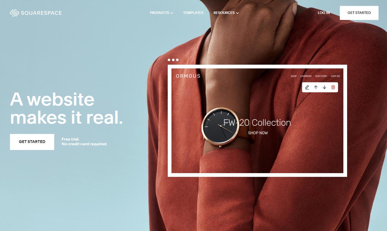 squarespace-免費網頁設計軟體