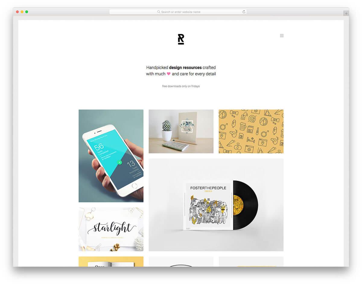 reopen-設計作品集網站